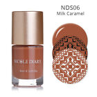NICOLE DIARY 9ml 8Colors Nail Art Stamping Polish Spring Nail Printing Varnish