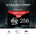 KRECOO 256GB/128GB/64GB Flash TF Memory Card for Mobile Phone Tablets Cameras PC