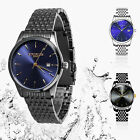 Men's Waterproof Military Sport Date Analog Quartz Wrist Watch Business Watches image