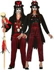 Couples Ladies & Mens Voodoo Spooky Horror Halloween Fancy Dress Costume Outfits