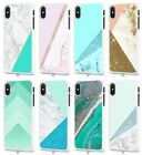 Marble Glitter Mobile Case Cover for Apple iPhone Models S040