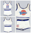 Space Jam Tune Squad LOLA Ladies Set Girl Basketball Jersey With Shorts Stitched