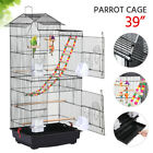 Large Flight Cockatiel Conure Parakeet Bird Cage with Stand