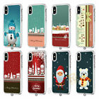 Merry Christmas Clear Gel Phone Case Cover For Apple iPhone Models 093