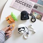 3D Star Wars Silicone Earphone Protective Cover For Apple Airpods Charging Case $5.69 USD on eBay