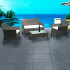 4 Piece Rattan Garden Furniture Set Priced To Clear Immediately At A Crazy N9y3d