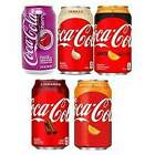 American Coca Cola Fizzy Soda Can Drink 12oz (355ml) 3+ Flavours USA Import £5.49  on eBay