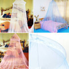 1 Pcs Elegant Lace Bed Mosquito Netting Curtain Mesh Canopy Princess Round Dome image