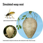 Wasp Deterrent Yellowjackets Bee Hornets Fake Wasp Nest Simulated Deterrent