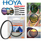 HOYA HMC UVC Camera Lens Filter Slim Digital Camera 52 55 58 62 67 72 77 82 mm