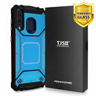 For Samsung Galaxy A20 A30 A50 Phone Case TJS TankMate Aluminum +Tempered Glass