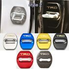 Kyпить 4Pcs Glossy Color Car Door Lock Protective Cover Case Badge Decal TRD на еВаy.соm