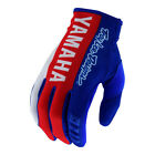 NEW 2019 TROY LEE DESIGNS TLD GP YAMAHA MOTOCROSS MX GLOVES BLUE ALL SIZES