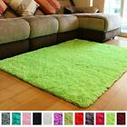 Shaggy Fluffy Rugs Anti-Skid Area Rug Indoor Shag Carpets Rug 4x5.3 Feet