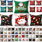 Promotions  Merry Christmas Pillow Case Sofa Throw Cushion Cover Home Decor 18