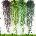 Artificial Fake Hanging Flower Vine Plant Home Wall Decoration Indoor Outdoor Av
