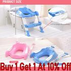 Toddler Toilet Chair Kids Potty Training Seat Kids Toilet With Step Stool Ladder image