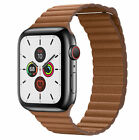 Genuine Leather Loop Magnetic Watch Band For Apple Watch Series1 2 3 4 5 40/44MM image