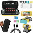 7in1 Accessories Set Carrying Case Bag+Screen Protector+Stand for NS Switch Lite