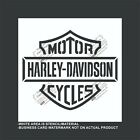 Harley Davidson Cycles- Reusable, Flexible Plastic Stencil $13.6 USD on eBay
