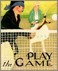 290031 Play The Game 1929 Tennis WPA Sports GLOSSY PRINT POSTER DE