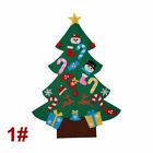 Felt Christmas Tree Set with Removable Ornaments DIY Xmas Hand Craft Decor