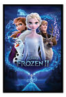 Frozen 2 Magic Poster FRAMED CORK PIN BOARD With Pins   UK Seller