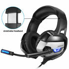 AU Gaming Headset for PS4 Xbox One PC Laptop with Noise Cancelling Mic K5