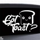Got Toast? Vinyl Decal Sticker Scion XB JDM Japanese Anime Fan Cute Face Letters $14.61 USD on eBay