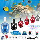 Kyпить Full Face Snorkel sets Snorkeling Mask Diving Scuba for Gopro adults gifts sale на еВаy.соm