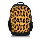 "Leopard Print 15.6"" Inch LAPTOP MacBook Notebook BACKPACK Tablet RUCKSACK Bag"