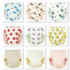 Cartoon Soft Cotton Baby Infant Diaper Nappies Underwear Training Pants 70-100cm image
