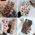 Bling Leopard Soft Rubber Case Slim Cover F Iphone 8 Plus Xr Xs Max 11 Pro Max