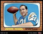 1966 Topps #125 John Hadl Chargers Kansas 7 - NM $39.5 USD on eBay
