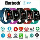 Fitness Smart Watch Band FIT Sport Activity Tracker For Kids Android iOS Phone