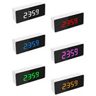 US Alarm Clock Large Digital LED Display USB/Battery Temperature Bedroom 02