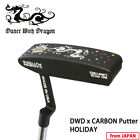 DWDxCARBON Collaboration Putter HOLIDAY Dance With Dragon Golf from Japan 19wn
