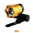 Rechargeable 15000LM T6 LED MTB Bicycle Light Bike Front Headlight w/USB Cord