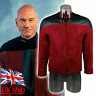 Star Trek The Next Generation Captain Picard Duty Uniform Red Jacket TNG Costume on eBay