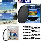 HOYA Slim Digital Camera Filter HMC UVC CIR PL UV DMC 49 58 62 67 72 77 82mm