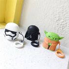 3D Silicone Star Wars Master Yoda And Darth Vader Case For Airpods1 2 Case Cover $3.78 USD on eBay
