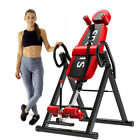 US Safety Locking Inversion Table with Lumbar Pillow - Back & Neck Pains Reducer image