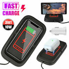 Qi Wireless Charger Car Pad Mat Phone Holder Mount Non-Slip for iPhone XS MAX XR
