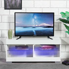 39'' TV Stand Unit Cabinet Stand LED Light Cabinet High Gloss Home Furniture