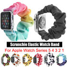 Fashion Scrunchie Elastic Wrist Bracelet Band Strap For Apple Watch Series 5 4 3 image