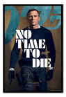 James Bond No Time To Die Armed Poster FRAMED CORK PIN BOARD With Pins £54.95 GBP on eBay