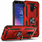 Samsung Galaxy A6 With Magnetic Support Ring Stand Phone case Cover 2018 design