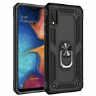 Samsung Galaxy A10e Phone Case Cover With Magnetic Support Ring Stand