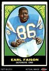 1967 Topps #75 Earl Faison Dolphins Indiana 4 - VG/EX $15.0 USD on eBay
