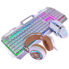 Durable Computer Game USB Wired Gaming Keyboard Mouse Set Luminous LED Backlight